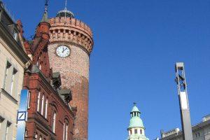 Am Spremberger Turm in Cottbus